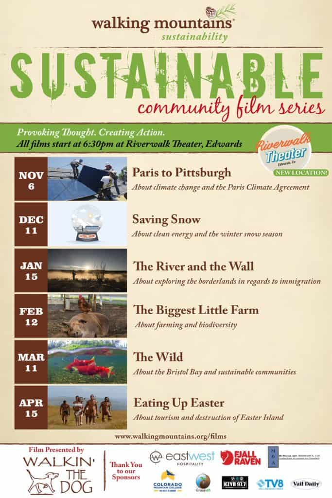 SUSTAINABLE COMMUNITY FILM SERIES